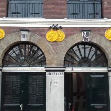 Henkespand Voorhaven Delfshaven Rotterdam