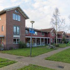 Nieuw Terbregge - Rotterdam. Buitenschilderwerk van bijzondere woningbouw