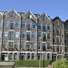 Zwaanshals Rotterdam - overzicht voorzijde straat