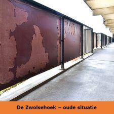 Zwolsestraat en Gevers Deynootstraat - Scheveningen - Planmatig Onderhoud Renovatie - Staedion oude situatie