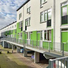 Het Groene Dorp - vastgoedonderhoud schilderwerk woningcorporatie Woonforte