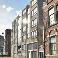Westeinde - Den Haag woningcorporatie Staedion schilderwerk gevelonderhoud