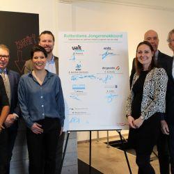 Jongerenakkoord - Rotterdams Jongerenakkoord ondertekent door De Goede VGO
