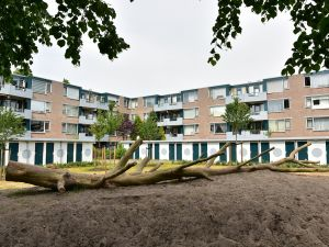 Djeddalaan en Akkabapad - Rotterdam  RGS project - bouwkundig schilderwerk