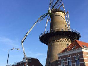 Molen Kyck over den Dyck - Dordrecht